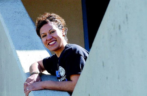 Rick Gunn/Nevada Appeal Lupe Ramirez will receive her associate's degree from Western Nevada Community College during commencement exercises Tuesday evening. She earned the degree after working 15 years at the community college.