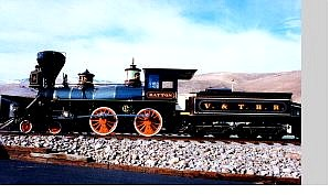Photo Courtesy of Nevada State Railroad Museum Instead of displaying Engine No. 27 at the Comstock History Center as originally planned, the Department of Cultural Affairs will exhibit Engine 18, The Dayton, an 1870s-era locomotive that served Virginia City, as decided Monday at the Storey County Commission meeting.