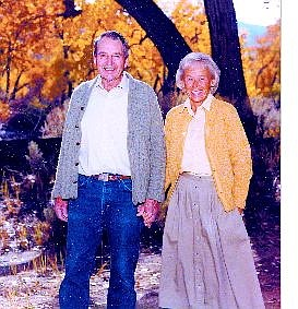 JohnD and Kay Winters along the Carson River in fall 2003. Carson City parks officials are considering celebrating longtime Carson City benefactor JohnD Nevers Winters by putting his one-of-a-kind name on a public park.   Jay Aldrich Special to the Appeal