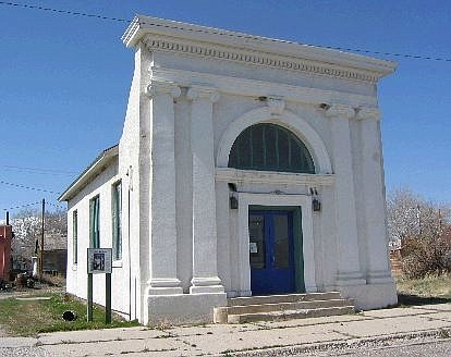 Richard Moreno/For the Appeal This sturdy, brick-and-stucco structure, erected in 1911, housed the Bank of Wells until the 1960s. it is one of several historic buildings still found in Wells.