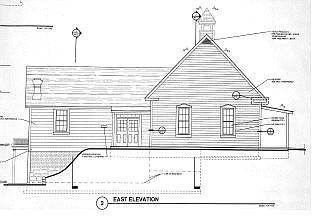 submitted This schematic shows the new schoolhouse community center in Silver City.