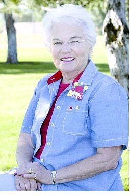 Cathleen Allison/Nevada Appeal The Douglas County Senior of the week is Iris Hettrick.