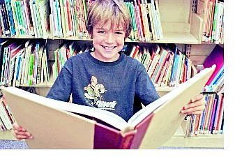 Julie Sullivan / Nevada Appeal News Service Anders Chaplin, a fifth-grader from Zephyr Cove Elementary School, won a $500 savings bond for being a gifted student.