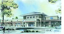 An artist's rendition of Washoe Medical Center's Fernley Family Care facility.