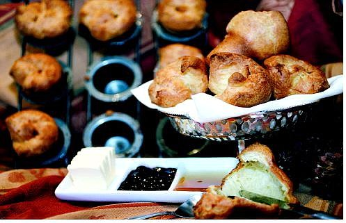 Chad Lundquist/Nevada Appeal Popovers prepared by Michelle Palmer.