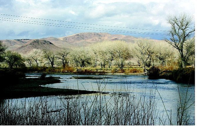 Cathleen Allison/Nevada Appeal Nevada State Parks officials are working to make the Ghiglia Ranch, near Fort Churchill, part of the State Parks system.