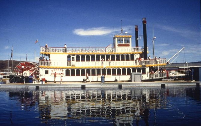 Photo courtesy of the Desert Princess The Desert Princess paddlewheeler offers leisurely, scenic cruises of Lake Mead.