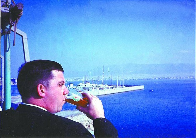 Harbors such as those in Lebanon and Greece are fine places to enjoy a beer while waiting for a hop.