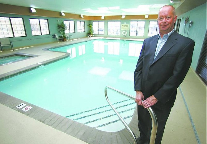 BRAD HORN/Nevada Appeal Dave Friedrich, owner of the Hampton Inn in Carson City, is enjoying his retirement, while working to boost area tourism.