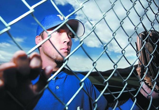 Chad Lundquist/Nevada Appeal WNCC baseball player Pat Grennan