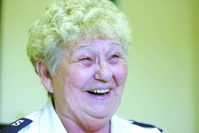 Vi Bibee, family-services director for the Salvation Army, is retiring after 24 years.
