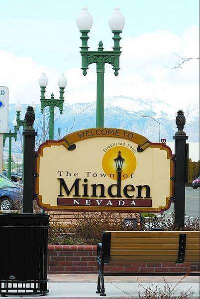 This gateway sign in Minden is one example of a good sign that helps draw tourists. It contains few words and is easy to read. A recent presentation by a tourism expert said drivers have four seconds to read a sign.   Belinda Grant/Nevada Appeal News Service