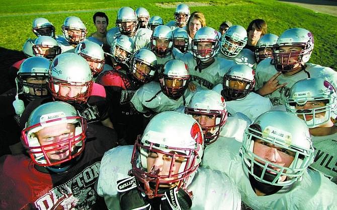 BRAD HORN/Nevada Appeal The Dayton High School football team has started the season perfect at 6-0.