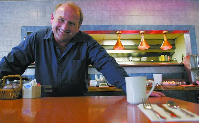 Trevor Clark/Nevada Appeal John Hurzel, along with his sister and brother, have owned Grandma Hattie's restaurant inCarsonCity since 1986.