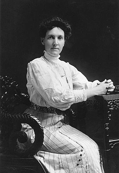 Nevada Historical Society photo Jeanne Elizabeth Wier was the first secretary and curator of the Nevada Historical Society formed in 1904. She earned an honorary doctorate degree from the University of Nevada where she was a professor and led the department of History and Political Science.