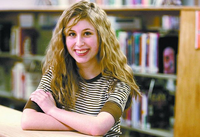 Cathleen Allison/Nevada Appeal  Carson High School sophomore Callie Ward has been accepted into the Educational Programs for Gifted Youth Summer Institute at Stanford University. Ward was one of 40 students accepted worldwide.