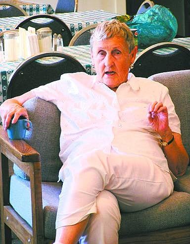 Photo provided Doris Jean Jones is the Storey County Senior Center's Senior Volunteer of the Week.