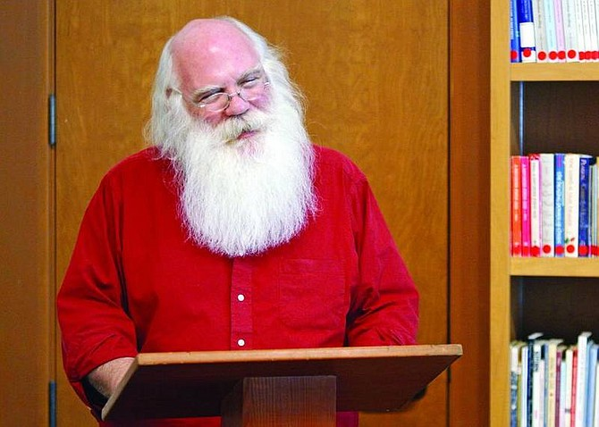 Jen Schmidt/Appeal News ServiceSanta Claus announced Friday that he is running as a write-in candidate for president of the United States.