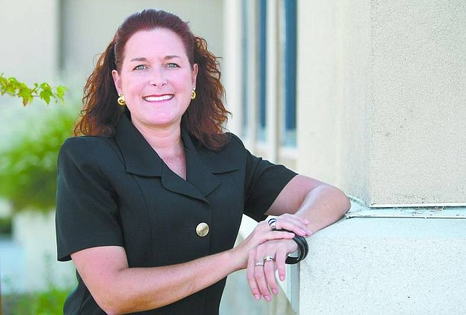 Cathleen Allison/Nevada AppealSusan Skaggs is the new executive director of the Dayton Area Chamber of Commerce.