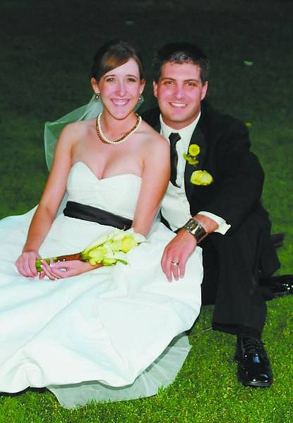 Brighid and Justin were married at St. Teresa of Avila Catholic Community on Aug. 1. Submitted photo