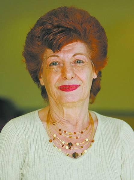 BRAD HORN/Nevada Appeal Grace Gast is the Senior Volunteer of the Week for the Carson City Senior Citizens Center.