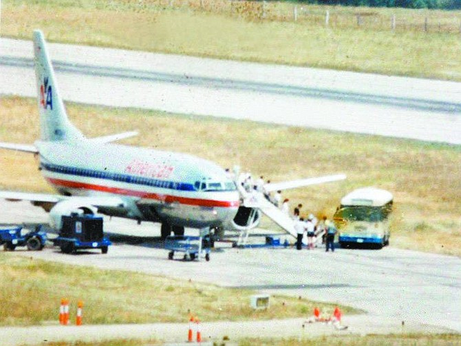 Nevada Appeal NEws Service American Airlines terminated service to Lake Tahoe Airport in 1991.