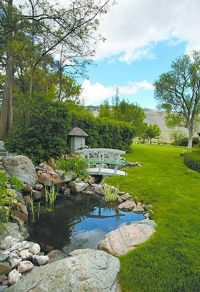 """Cathleen Allison/Nevada Appeal The garden at the Ihfe Place is part of Sunday's """"Through the Garden Gate"""" home and garden tour sponsored by the Carson City Historical Society. For ticket information, call Dorothy Dolan at 882-1805."""
