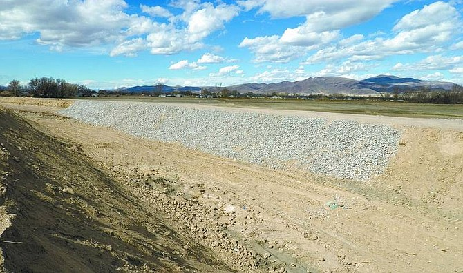 Kim Lamb/Nevada Appeal News Service The Bureau of Reclamation will announce its decision tonight at a meeting in Fernley whether or not to allow water to flow into the Truckee Canal.