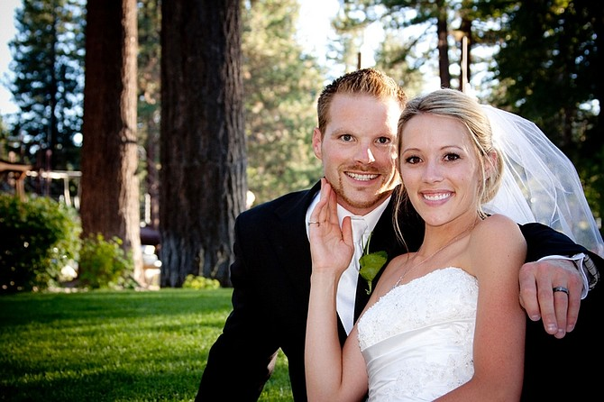photo submittedNewlyweds Justin Morscheck and Shannon Devereaux will make their home in Pullman, Wash.