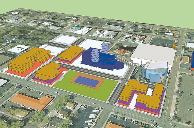 Rendering courtesy of Carson City Office of Business Development