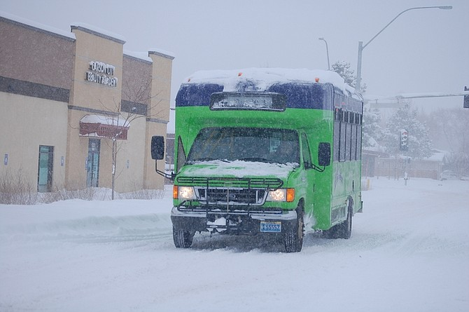 Brian Duggan/Nevada AppealJAC will end its services today at 3:30 p.m. because of the winter storm. JAC Assist will continue as planned.