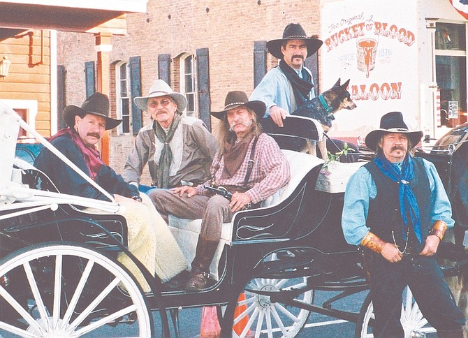 David Johns and the Comstock Cowboys present Christmas in the Sierra show at Piper's Opera House Dec. 12 and in Genoa on Dec. 19