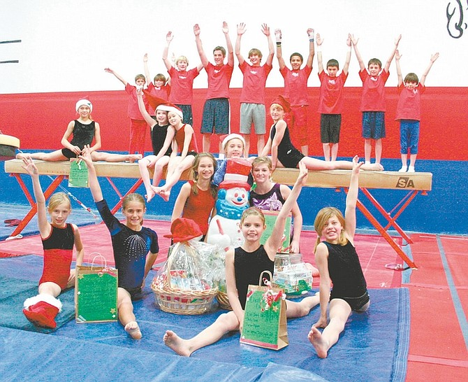 Tumbleweeds Gymnastics, 3633 Research Way #104, is hosting photos with Santa and a bake sale, 9 a.m. to noon Saturday. Photos with Santa cost $5 for a 4x6 inch picture. There will be a raffle for prizes, including a movie night, spa treats, Fandango gift certificate, massage and more. Proceeds benefit the Tumbleweeds Gymnastics Booster Club, which provides financial aid for the boys and girls competition teams. For more information, call 841-4962.