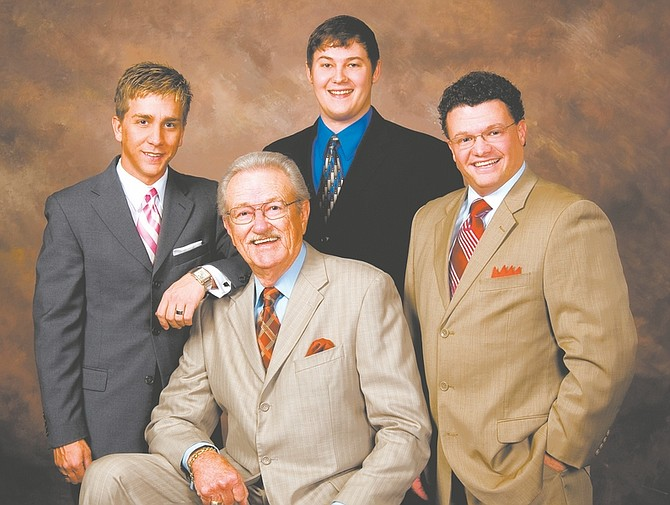 photo providedPopular Southern Gospel quartet, The Dixie Melody Boys will be featured in Carson City on Jan. 12 at the Good Shepherd Wesleyan Church.