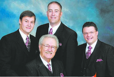 CourtesyThe Dixie Melody Boys will sing their gospel songs at Good Shepherd Wesleyan Church.