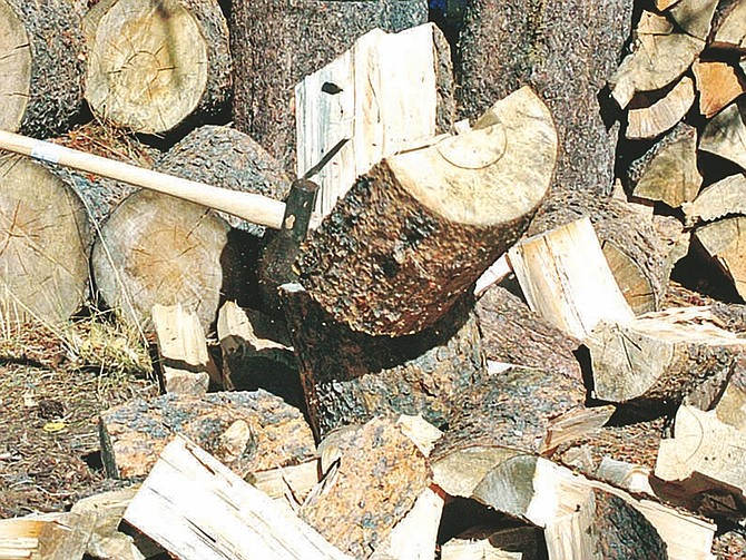 Published Caption: The U.S. Forest Service, Lake Tahoe Basin Management Unit, will begin the sale of firewood permits for the basin beginning Friday and continuing through Oct. 31.  (Tribune file photo)