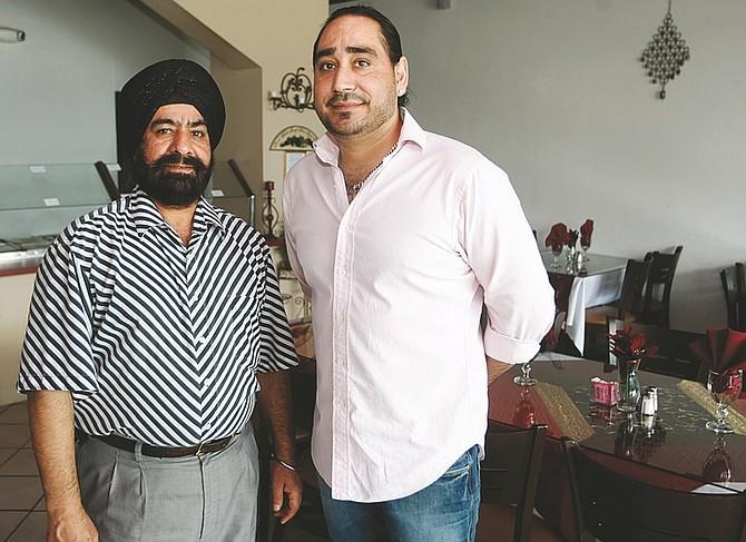 Shannon Litz / Nevada AppealSurinder and Amarjeet Singh opened their restaurant India Feast on East Winnie Lane last fall.