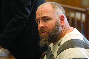 Shannon Litz/ Nevada Appeal File PhotoWilliam Billy Jack Caron, 36, shown here during his August 2010 preliminary hearing, was found guilty by a Yerington jury Monday of 14 counts of molesting five girls in Lyon County.
