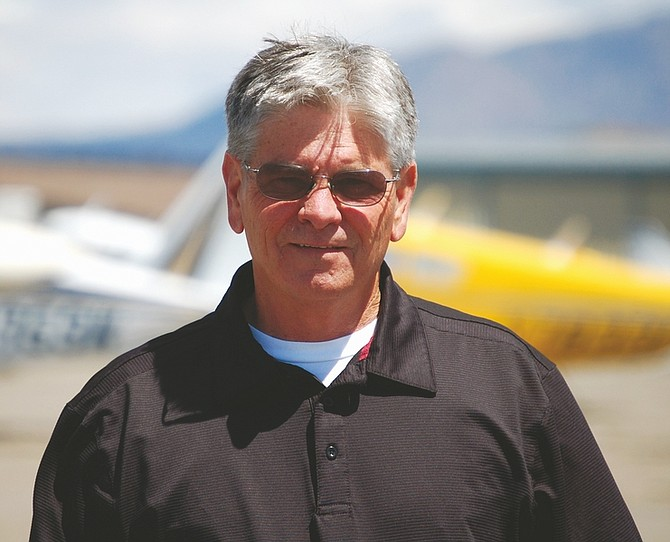Brian Duggan/Nevada AppealTim Rowe, 59, was named the manager of the Carson City Airport on March 23.