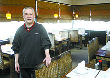 Shannon Litz/Nevada AppealOwner Paul Lau at Genghix Asian Fusion on May 26.
