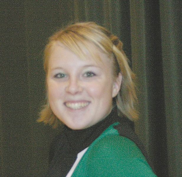 Michelle Parsley-McClelland is shown here as a cheerleader for Churchill High in this 2006 Lahontan Valley News file photo
