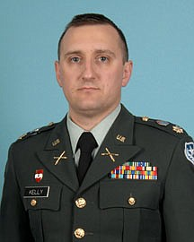 This is an undated photo provided by the Carson City Sheriff's Office, of Major Heath Kelly. Kelly, 35, of Reno, Nev., was one of three National Guard members killed by a gunman during a shooting rampage at an IHOP restaurant in Carson City, Nev., on Tuesday, Sept. 6, 2011. (AP Photo/Carson City Sheriff's Office)