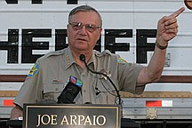 Associated PressArizona's Maricopa County Sheriff Joe Arpaio is best known for his tough immigration policies. He will be in Carson City Saturday to speak to Republicans.