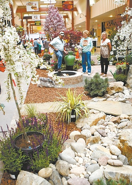 Shannon Litz / Nevada AppealA yard display was presented at the Carson Mall on Saturday   during the home show.