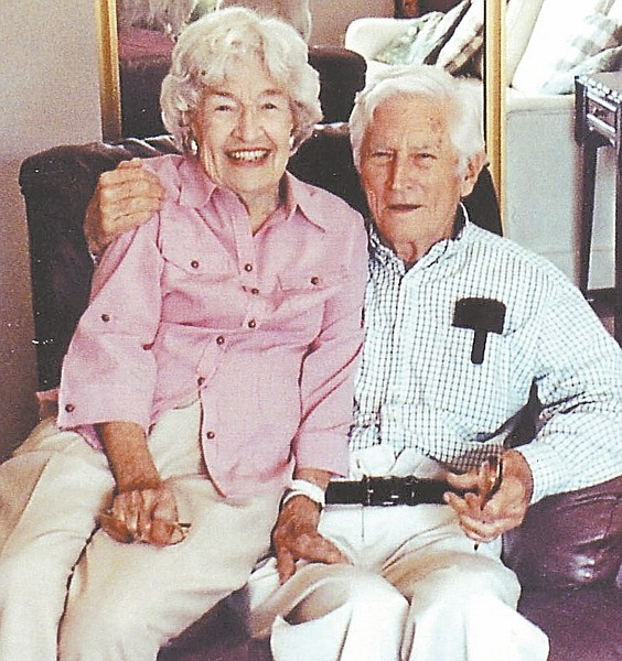 Charlotte and Merle Lancey of Minden recently celebrated 72 years of marriage.