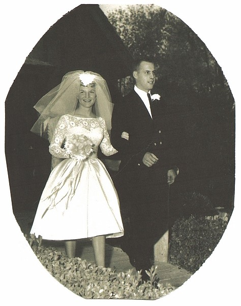 Teddi and Ron Hopkins celebrated 50 years of marriage on Saturday.