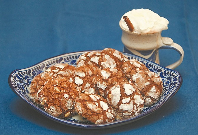 Jim Grant / Nevada AppealWarm cinnamon orange chocolate cookies are easy to make and taste great with Mexican-style hot chocolate.