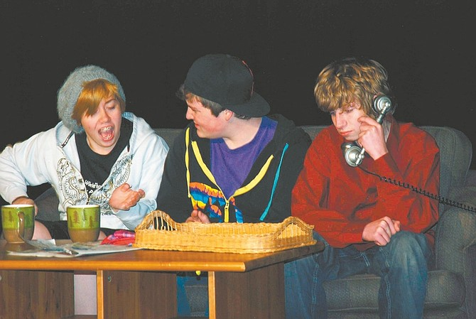 """CourtesyStudents from the Silver State Stars rehearse for the """"The Bully Plays/Winter Showcase,"""" which opens tonight and runs through Saturday."""