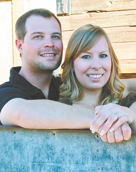 CourtesyChris Fields and Carly Matheus are engaged to be married on May 26.