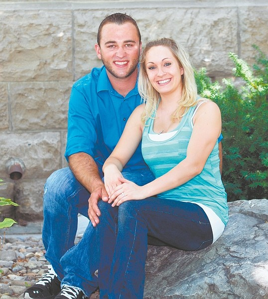 CourtesyAaron Craig Orlick and Brandy Lynn Cantley are engaged to be married on Feb. 23.
